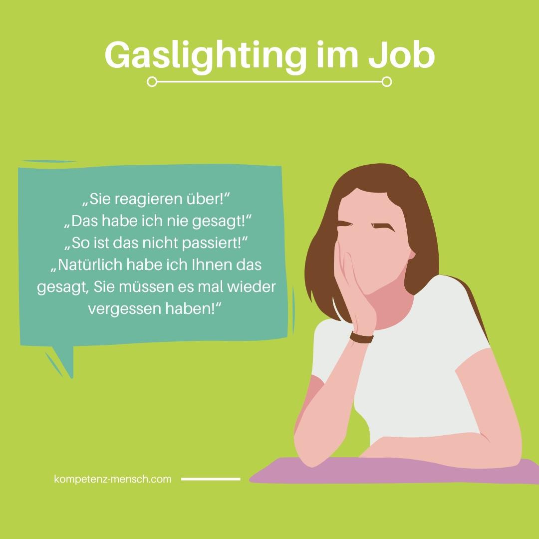 Gaslighting am Arbeitsplatz